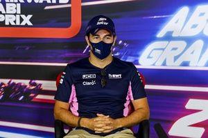 Серхио Перес, Racing Point, на пресс-конференции