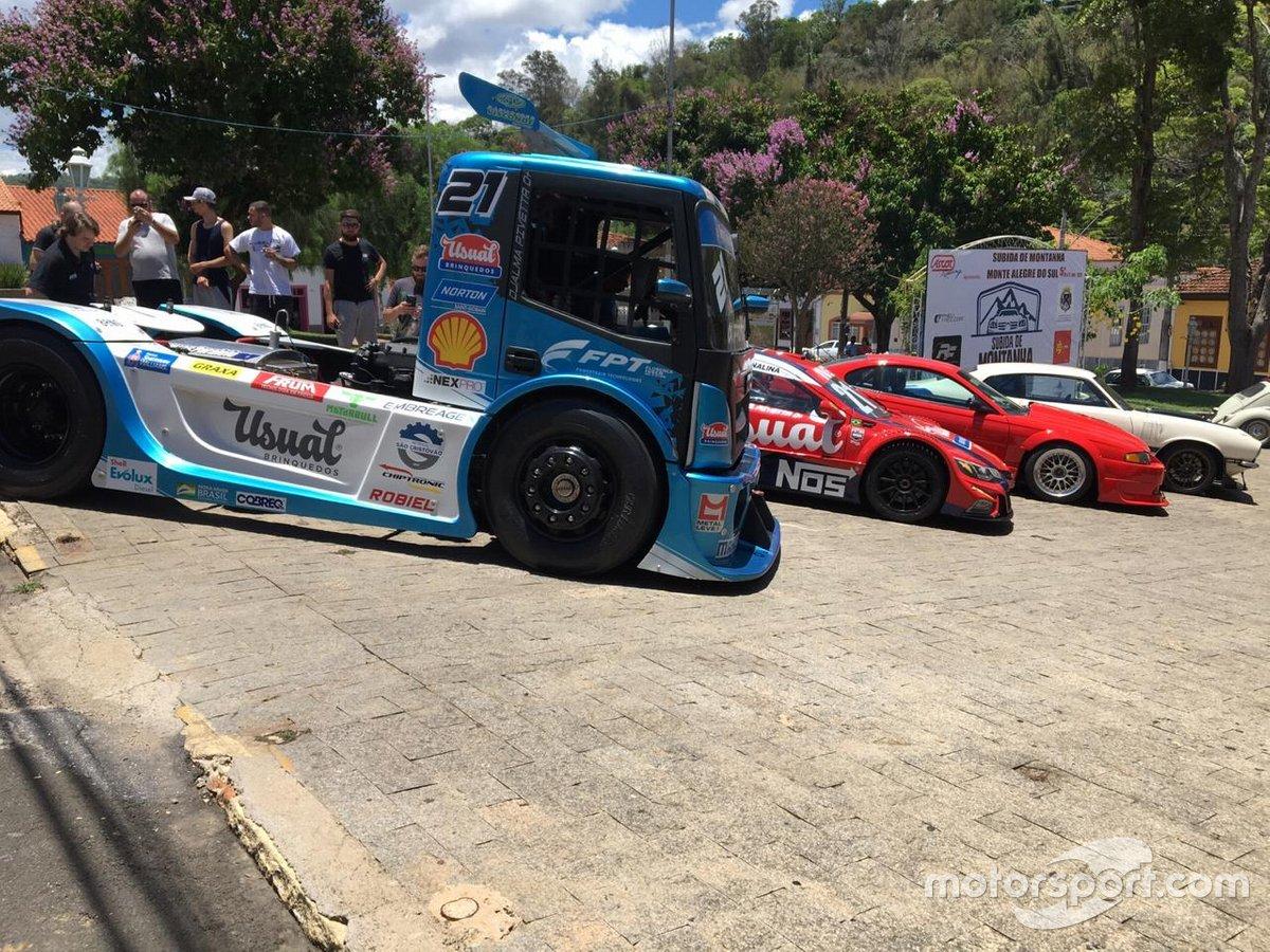 Truck e Stock Car da equipe Iveco Usual Racing