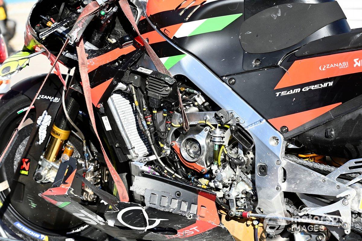 Aprilia engine