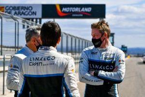 Yvan Muller, Cyan Racing Lynk & Co, Thed Bjork, Cyan Performance Lynk & Co, Santiago Urrutia, Cyan Performance Lynk & Co