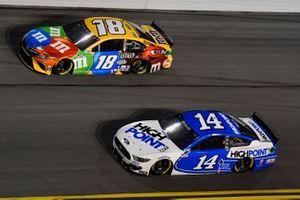 Chase Briscoe, Stewart-Haas Racing, Ford Mustang HighPoint.com Kyle Busch, Joe Gibbs Racing, Toyota Camry M&M's
