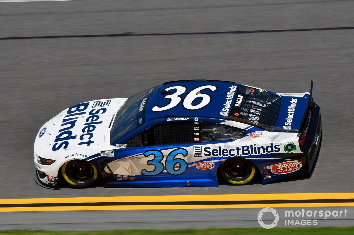 18. David Ragan, Front Row Motorsports, Ford Mustang