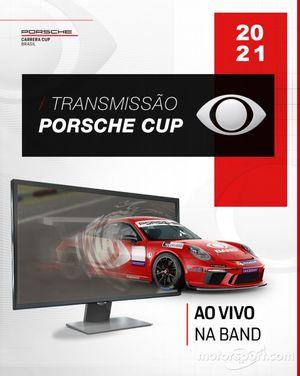 Porsche Cup na Band em 2021