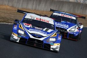 #19 WedsSport ADVAN GR Supra, #24 Realize Corporation ADVAN GT-R