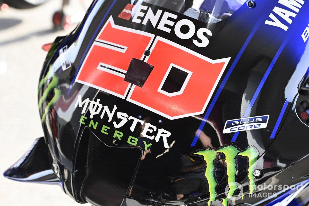 Moto de Monster Energy Yamaha