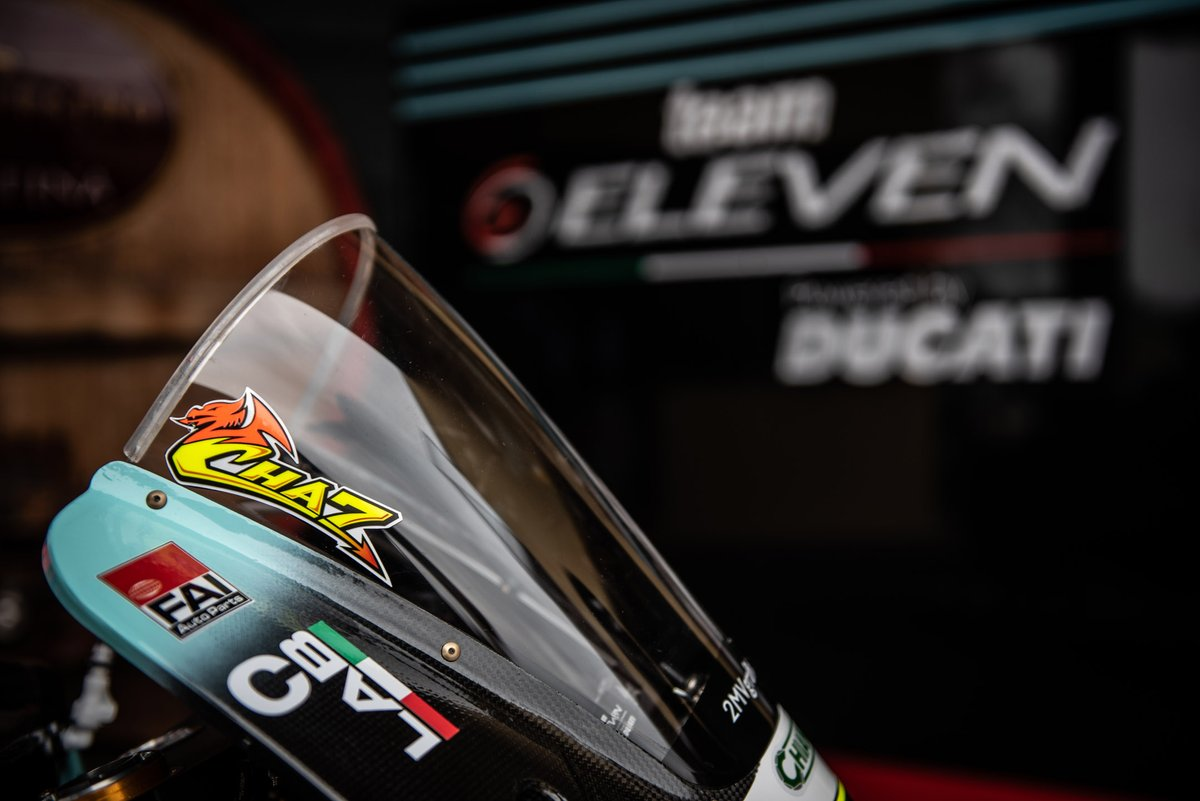 Bike detail of Chaz Davies, Team Go Eleven