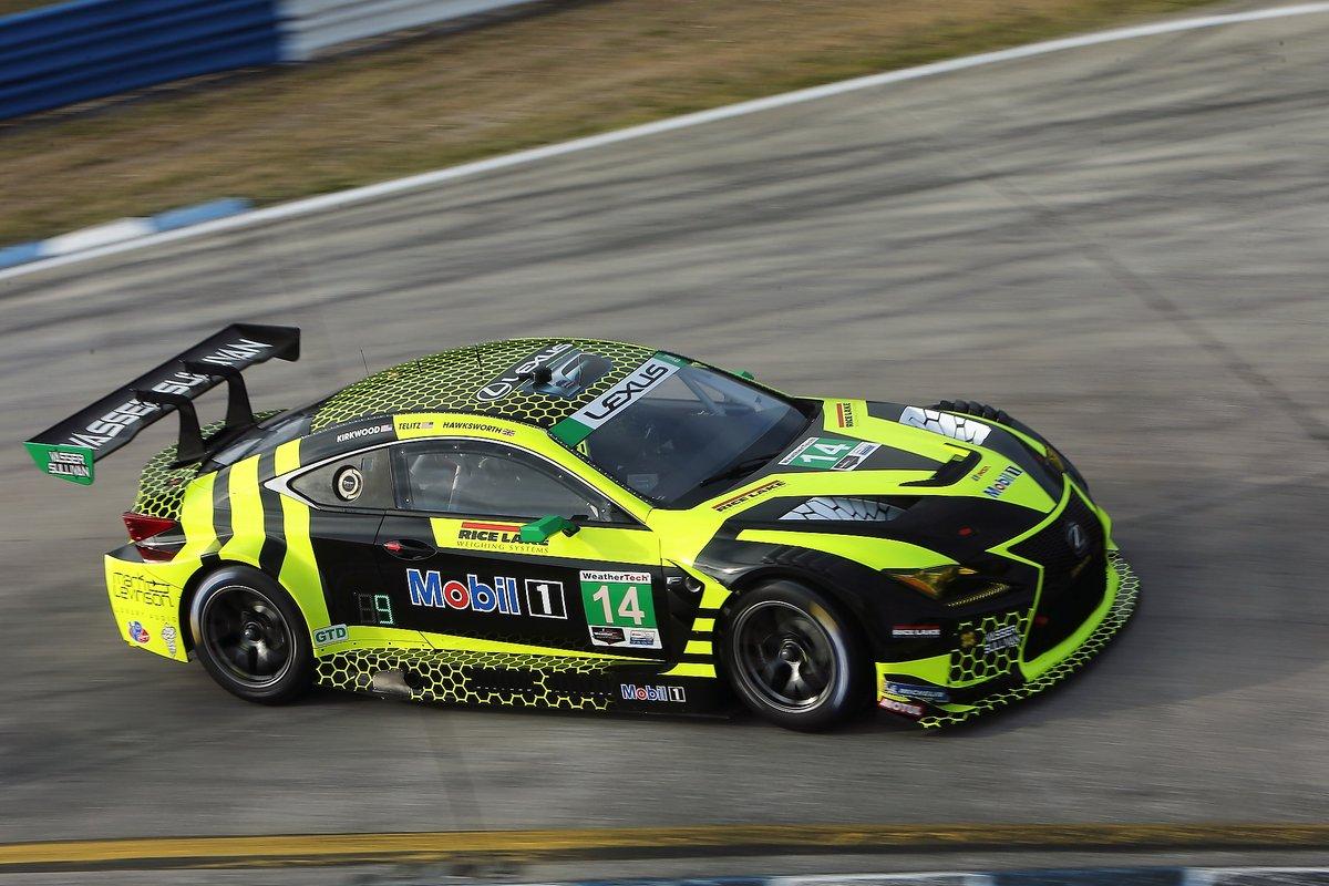 #14: VasserSullivan Lexus RC F GT3, GTD: Jack Hawksworth , Aaron Telitz, Kyle Kirkwood