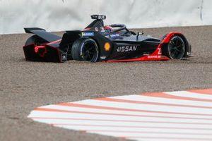 Sébastien Buemi, Nissan e.Dams, Nissan IMO2, dans un bac à graviers