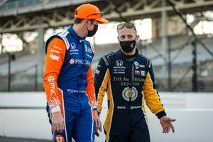 Tony Kanaan, Chip Ganassi Racing Honda et Scott Dixon, Chip Ganassi Racing Honda