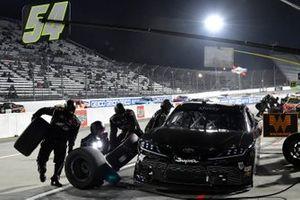 Ty Gibbs, Joe Gibbs Racing, Toyota Supra AutoByNelson.com pit stop