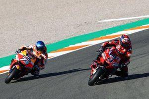 Danilo Petrucci, Ducati Team, Alex Marquez, Repsol Honda Team
