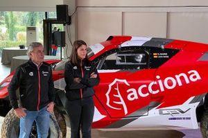 Carlos Sainz and Laia Sanz, ACCIONA - Sainz XE Team