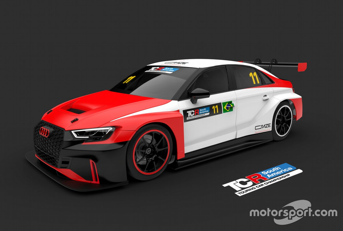 O Audi da Onze Motorsports para o TCR South America