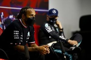 Race winner Lewis Hamilton, Mercedes in the Press Conference
