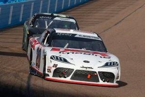 Harrison Burton, Joe Gibbs Racing, Toyota Supra DEX Imaging, Riley Herbst, Stewart-Haas Racing, Ford Mustang Monster Energy