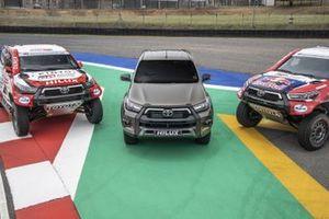Toyota Gazoo Racing Toyota Hilux and Toyota Hilux