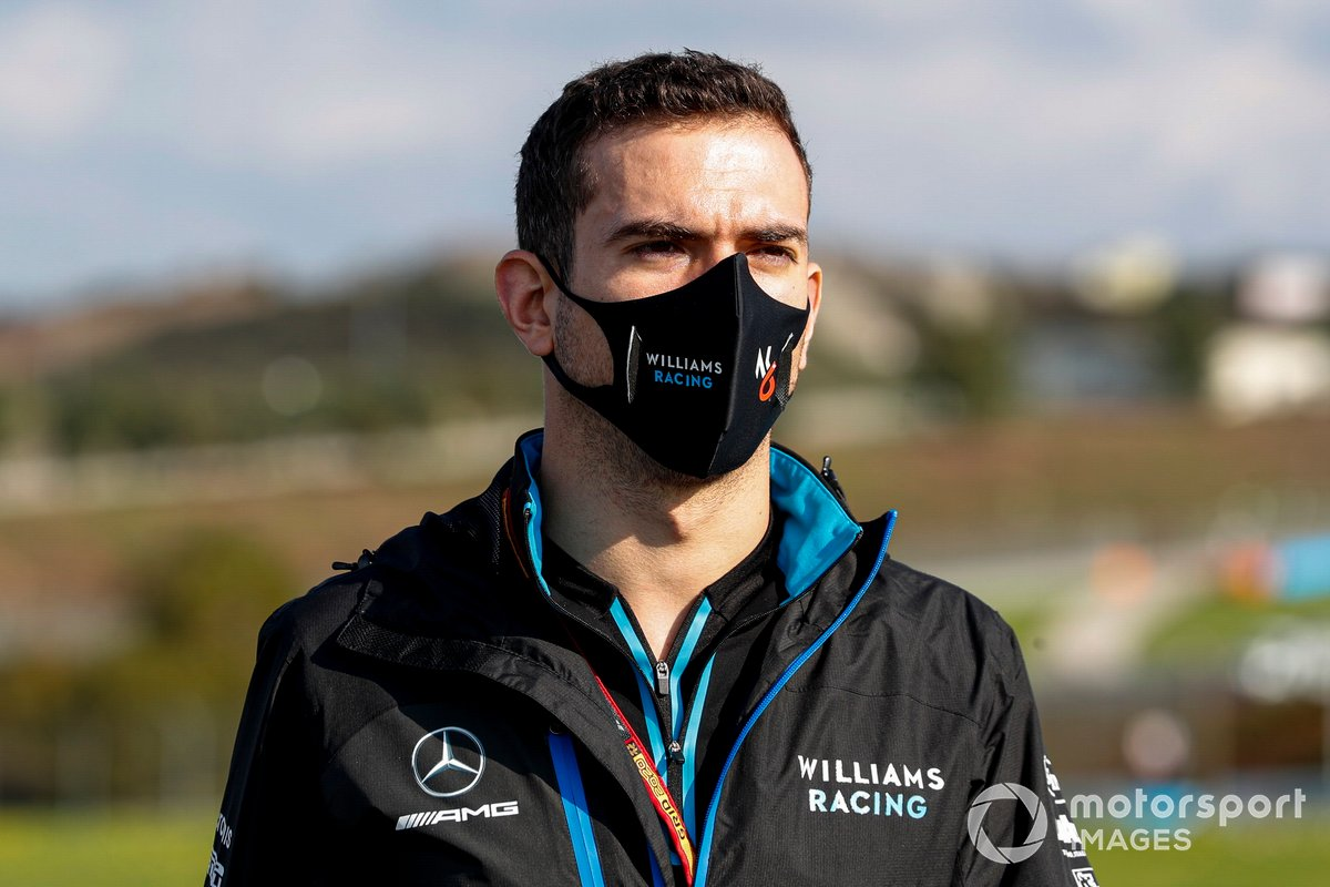 Nicholas Latifi, Williams Racing, recorre la pista
