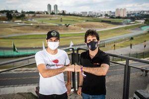 Nelsinho Piquet e Sergio Jimenez