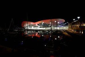 Yas Marina circuit sfeerbeeld
