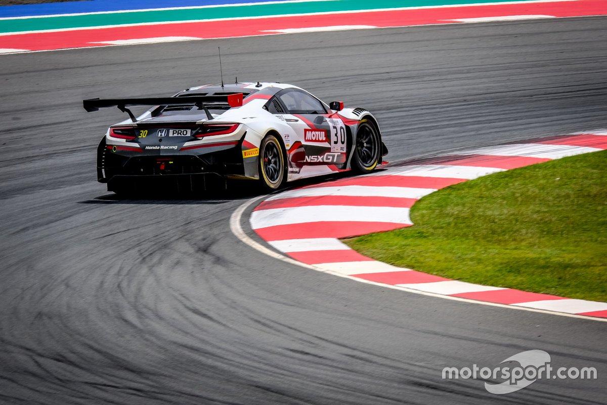 #30 Team Honda Racing Honda NSX GT3 2019: Mario Farnbacher, Renger van der Zande, Bertrand Baguette
