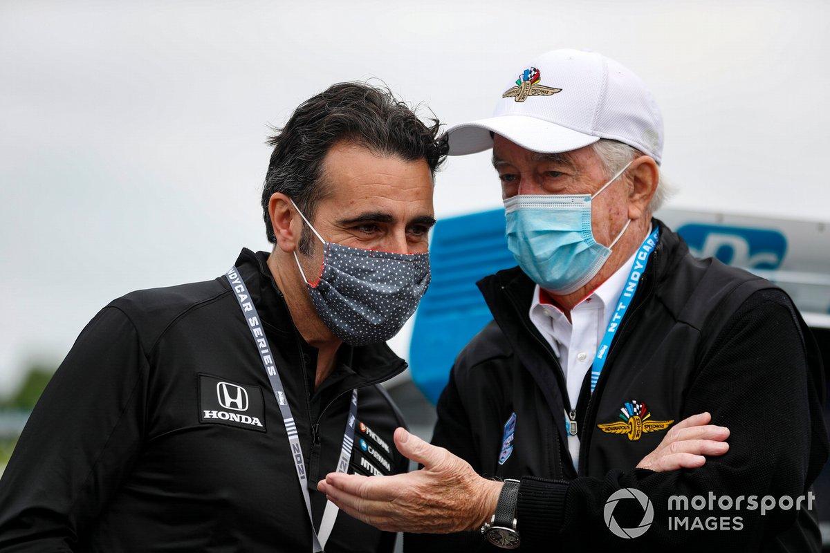 Dario Franchitti and Roger Penske