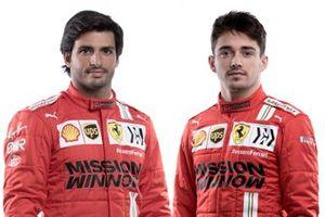 Charles Leclerc, Carlos Sainz Jr., Ferrari
