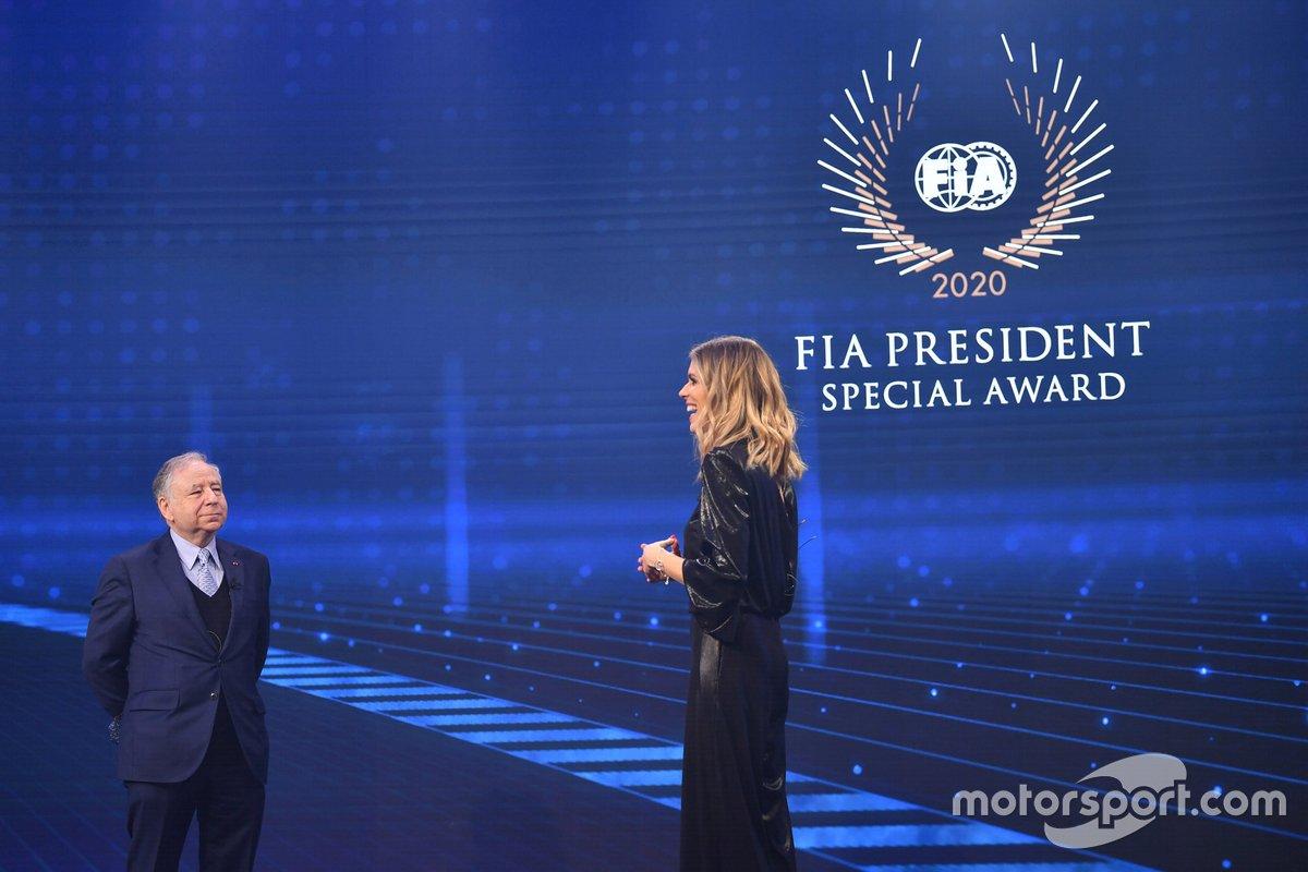 Jean Todt, presidente de la FIA, Nicki Shields