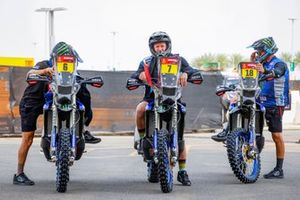 #6 Monster Energy Yamaha Rally Team: Andrew Short, #d7#, #18 Monster Energy Yamaha Rally Team: Ross Branch