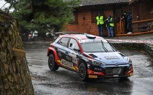 Andrea Crugnola, Pietro Ometto, Hyundai Rally Team Italia, Movisport, Friulmotor, Hyundai i20 R5
