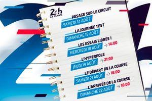 Le programme des 24 Heures du Mans 2021