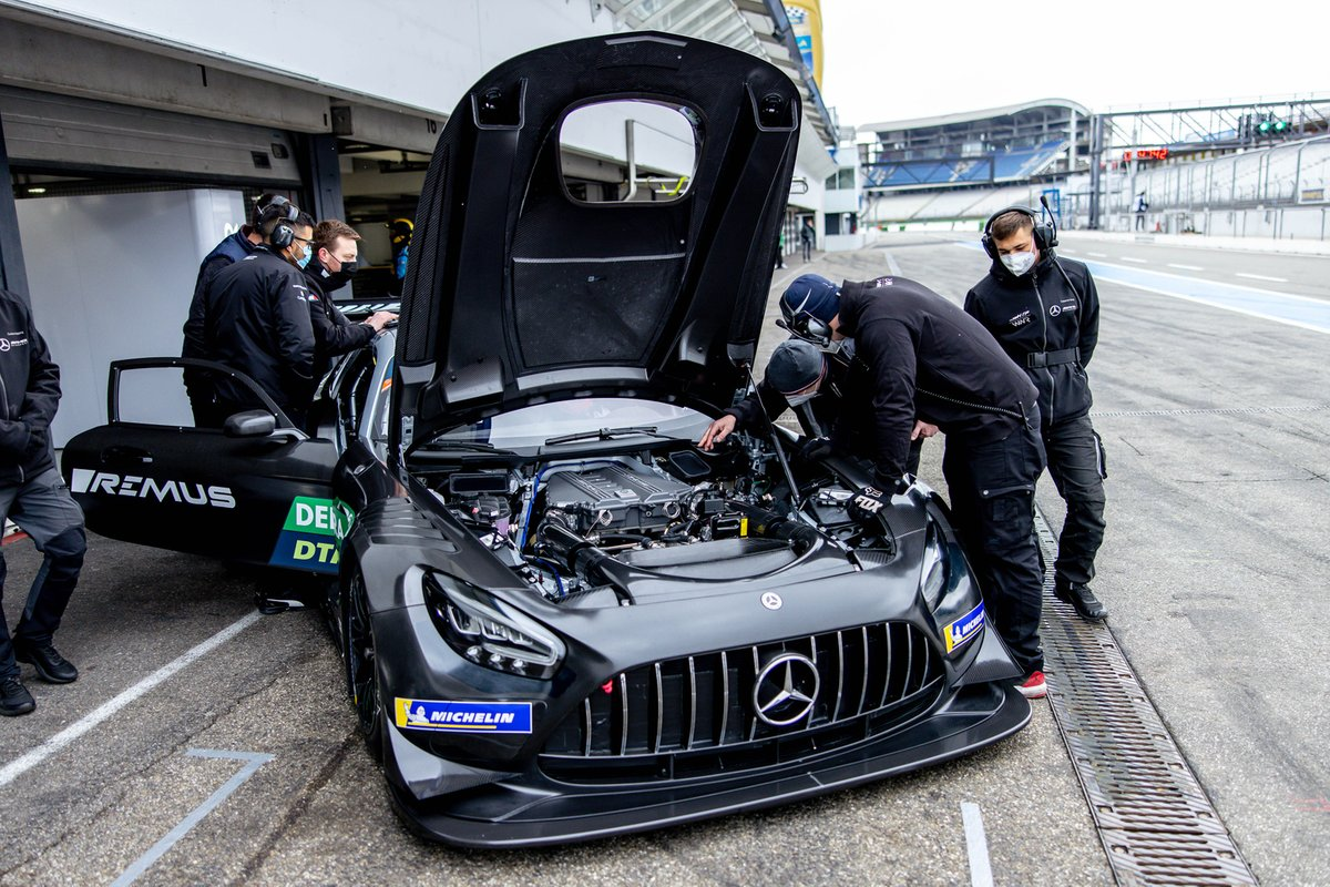 Lucas Auer, Mercedes AMG Team Winward, Mercedes AMG GT3