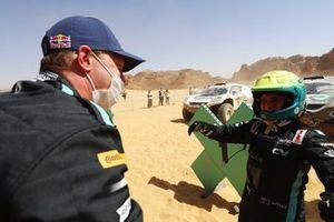Johan Kristoffersson, Rosberg X Racing, and Molly Taylor, Rosberg X Racing