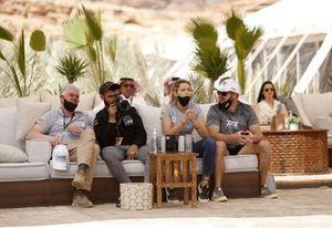 Extreme E, Christine 'GZ' Giampaoli Zonca, Oliver Bennett, Hispano Suiza Xite Energy Team, à l'hospitalité
