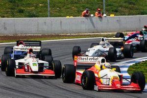 Luca Badoer, Lola T93/30 Ferrari, en Aguri Suzuki, Footwork FA14 Mugen-Honda