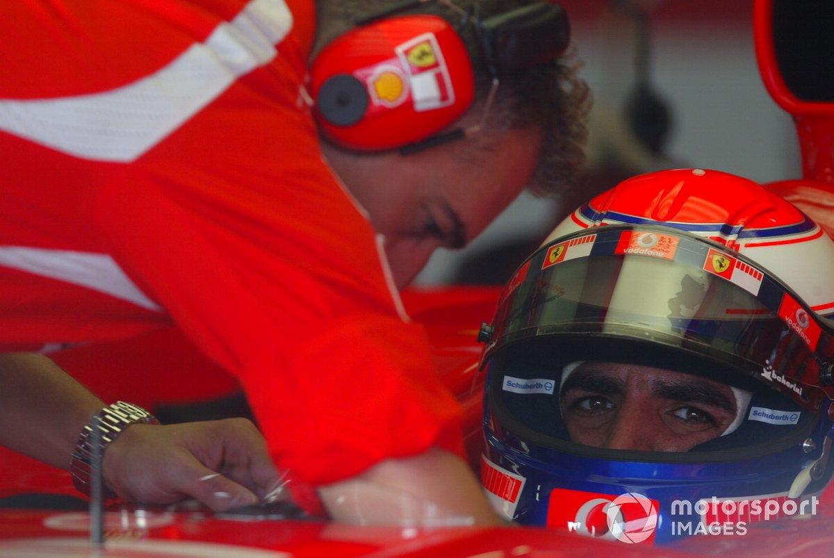 Marc Gené, probador de Ferrari