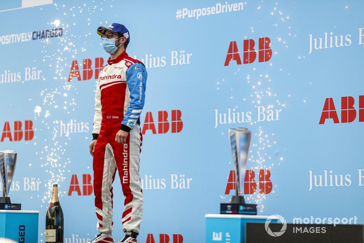 3º Alexander Sims, Mahindra Racing