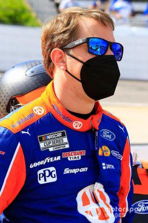 Brad Keselowski, Team Penske, Ford Mustang Autotrader