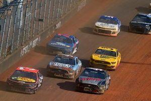 Austin Dillon, Richard Childress Racing, Chevrolet Camaro Bass Pro Shops/Tracker Off Road, Cole Custer, Stewart-Haas Racing, Ford Mustang HaasTooling.com