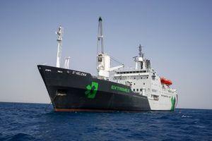 The St Helena logistics ship
