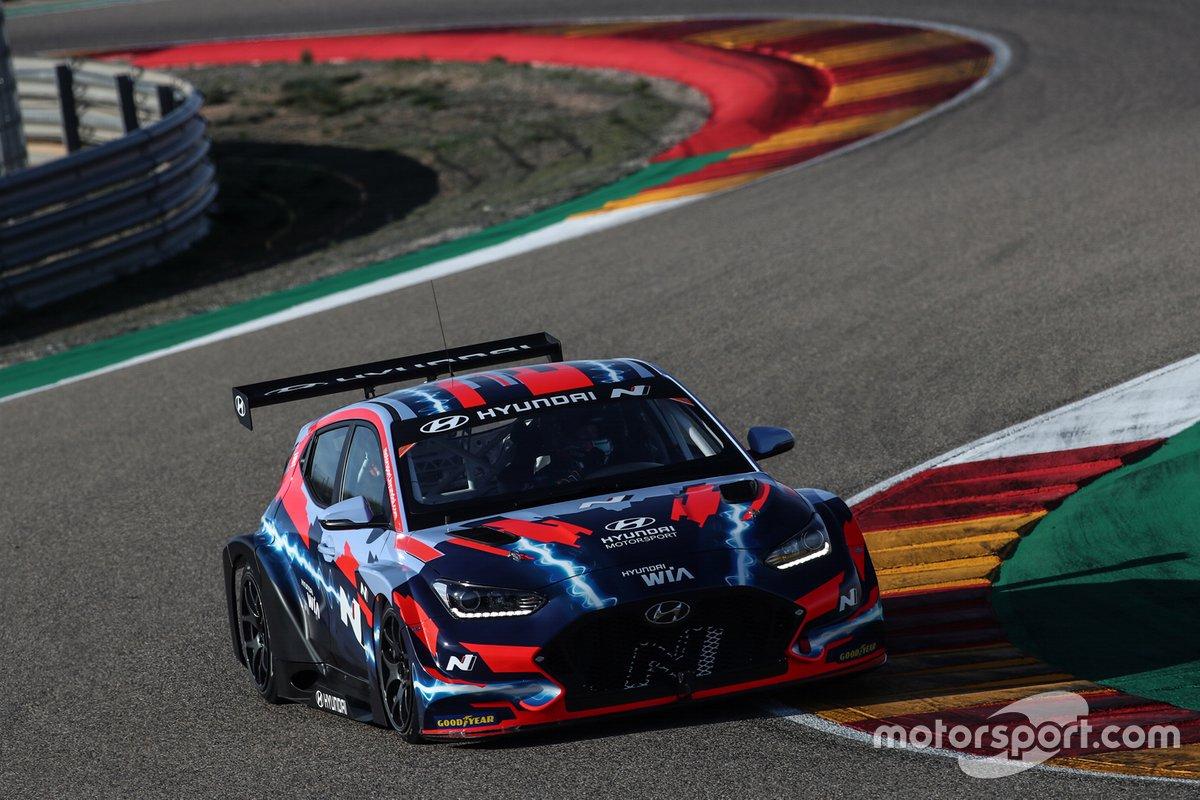 Jean-Karl Vernay, Hyundai Motorsport, Hyundai Veloster N ETCR