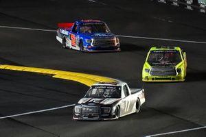 Riley Herbst, Team DGR, Ford F-150 and Matt Crafton, ThorSport Racing, Toyota Tundra Menards