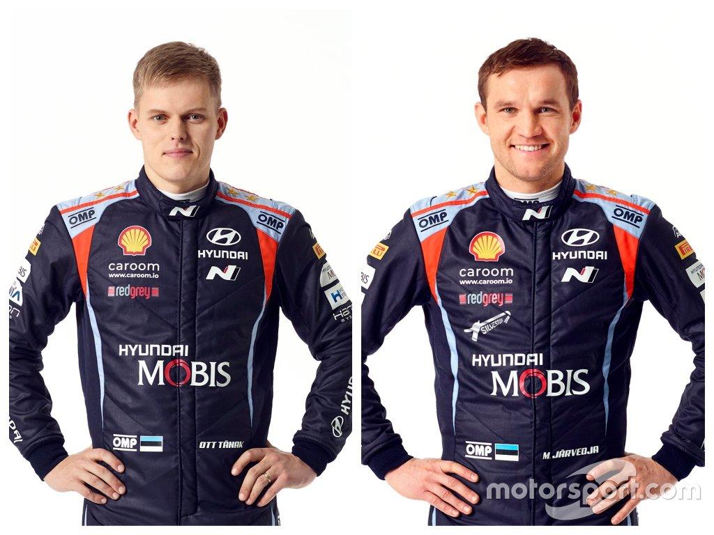 Hyundai Shell Mobis WRT. Экипаж № 8: Тянак – Ярвеоя