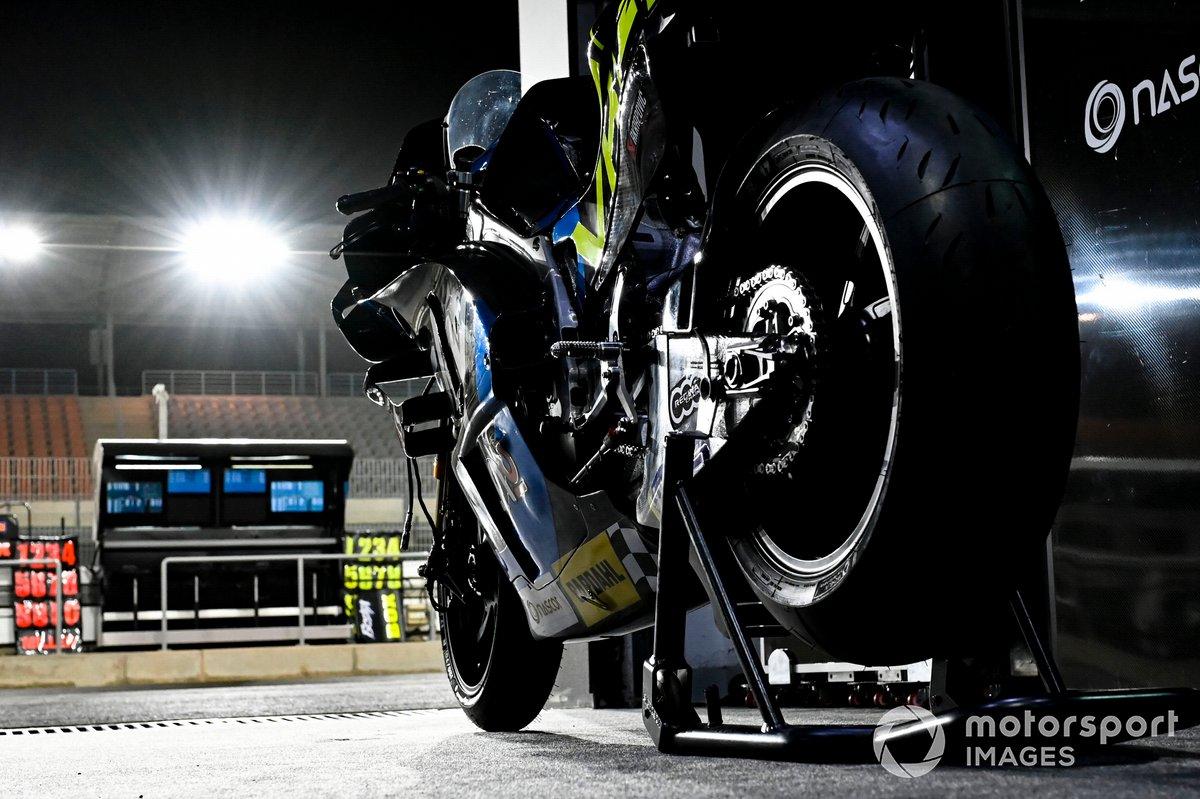 La moto di Luca Marini, Esponsorama Racing