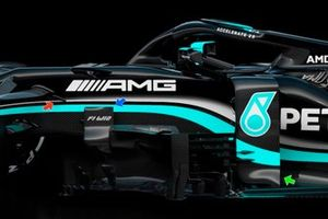 Mercedes AMG F1 W12 bargeboards and deflectors