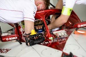 Sergio Sette Camara, Dragon Penske Autosport, in his cockpit