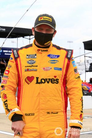 Michael McDowell, Front Row Motorsports, Ford Mustang Love's Travel Stops