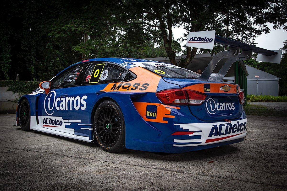 Carro de Cacá Bueno para temporada de 2021 da Stock Car