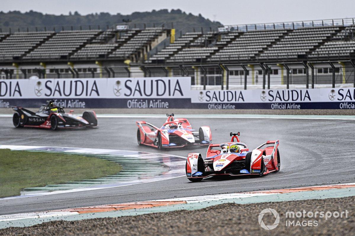 Alexander Sims, Mahindra Racing, M7Electro, Alex Lynn, Mahindra Racing, M7Electro, Oliver Rowland, Nissan e.Dams, Nissan IMO2