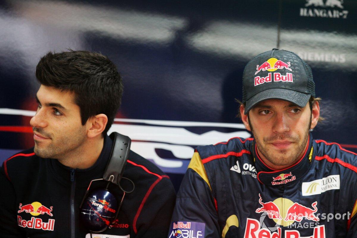 Jaime Alguersuari, Scuderia Toro Rosso dengan Jean-Eric Vergne, cadangan Scuderia Toro Rosso
