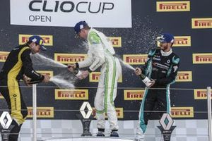 Felice Jelmini, Composit Motorsport, festeggia sul podio